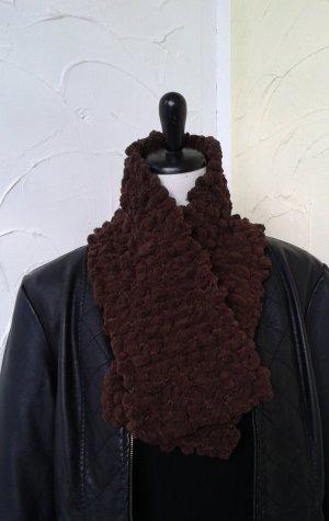 kurzer Schal, braun