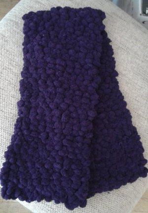 kurzer Schal, lila