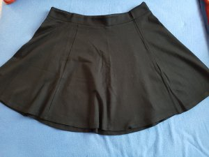 H&M Circle Skirt black viscose