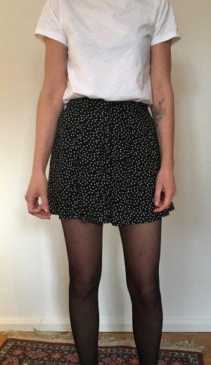 Cooperative Circle Skirt black-white