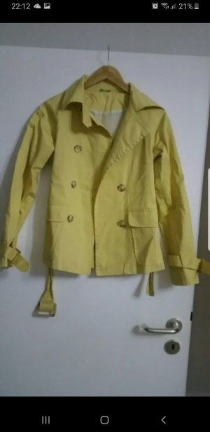 Benetton Trenchcoat geel