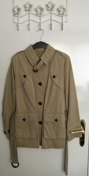 Burberry London Outdoor Jacket camel cotton