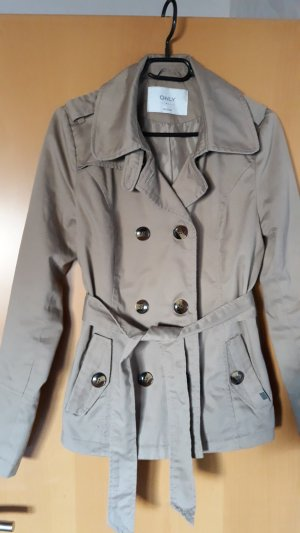 Only Trench beige Poliestere