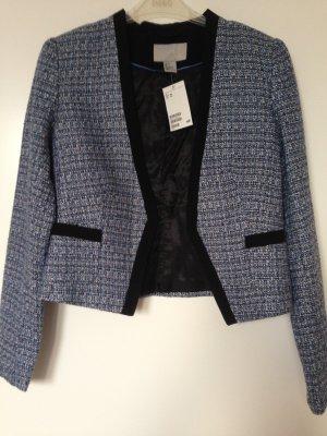 Kurzer Tweed-Blazer/ ungetragen