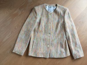 Kurzer Tweedblazer multicolor
