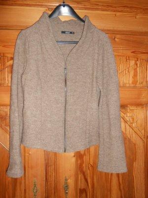 Adrett Blazer in lana sabbia-color cammello Lana