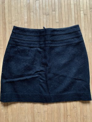H&M Wool Skirt black