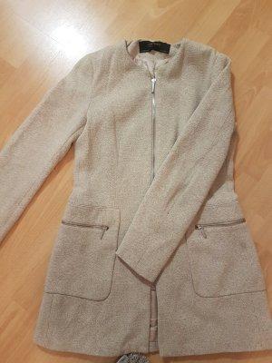 Zara Basic Veste beige clair