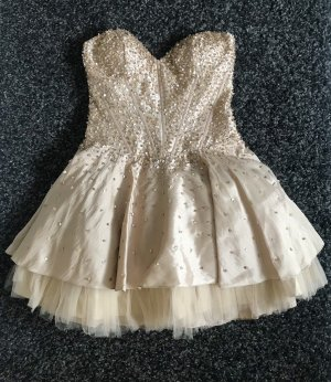 Magic Nights Vestido de baile color oro