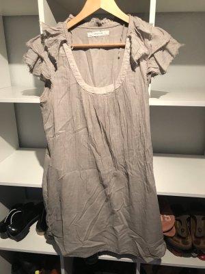 Kurzes beiges/graues Kleid von zara