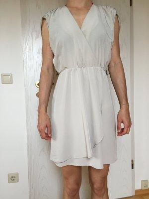 kurzes beiges/sandfarbenes Kleid, Gr. S