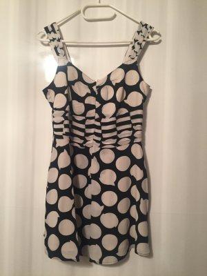Betty Barclay Vestido blanco-negro
