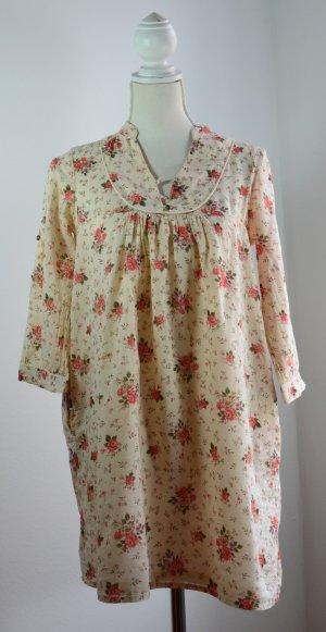 Kurzes Blumenkleid – Zara