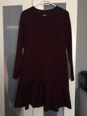 Kookai Peplum jurk bordeaux