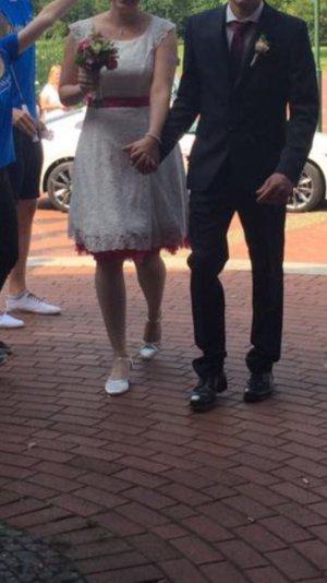 Kurzes Brautkleid - Lindegger- Küss die Braut - Lucy - Größe 44