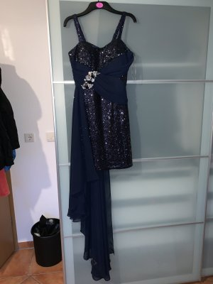 Robe de cocktail bleu foncé