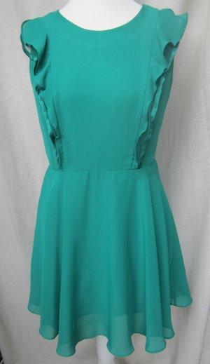 kurzes grünes Abendkleid