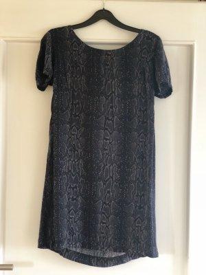 Kurzes Hilfiger Kleid mit Schlangenprint.