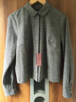 Kurzes Jäckchen / Bluse in Melange Gray von Fly like a bird