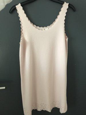 H&M Vestido elástico rosa empolvado-rosa