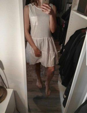 COS Volante jurk wit