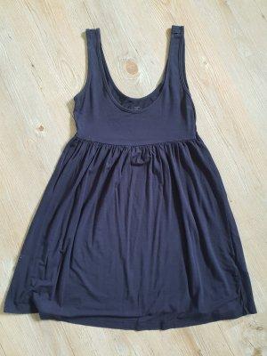 H&M Abito baby-doll blu scuro Viscosa