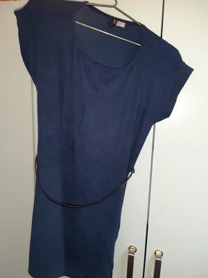 H&M Abito jersey blu scuro