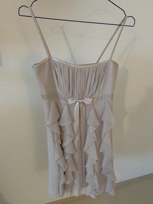 Kurzes Kleid in beige, Gr. 34
