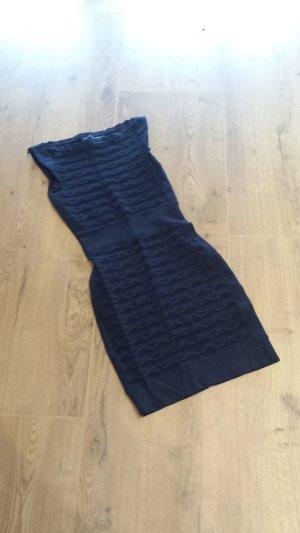 Kurzes Kleid in dunkel blau