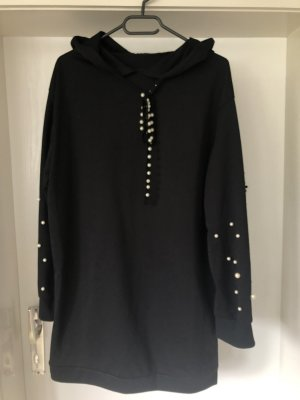 Robe à capuche noir