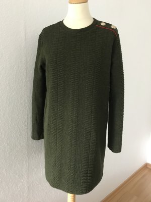 Kurzes Kleid, Longpullover von Zara Collection, in Olivton, Gr.M/38,40
