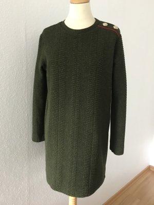 Kurzes Kleid, Longpullover von Zara Collection, in Olivton, Gr.M/38,40. LETZTE REDUZIERUNG!!!