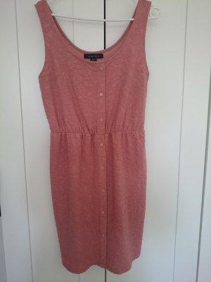 Kurzes Kleid mit Knopfleiste