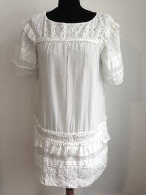 Kurzes Kleid mit Lochspitze von Tara Jarmon, Gr. 38