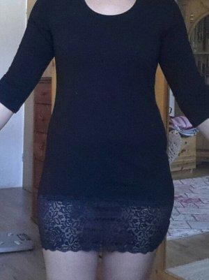 Kurzes Kleid mit Spitze Gr.38