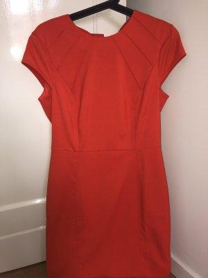 Kurzes Kleid Orange