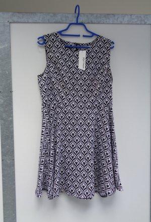 kurzes Kleid schwarz weiß Gr S / 38 neu mit Etikett
