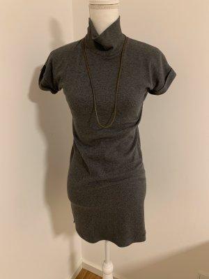 Brunello Cucinelli Shortsleeve Dress grey-grey brown
