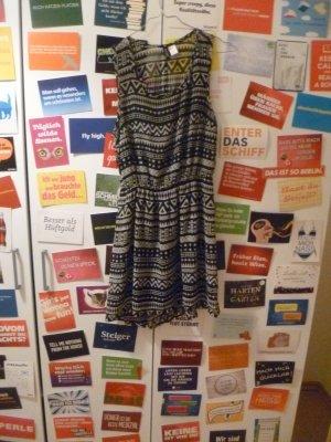 Kurzes Kleid von H&M, Aztek, Sommer, Vokuhila, Boho, Ethno, gemustert