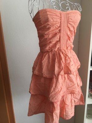 Pimkie Vestido bustier rosa-salmón