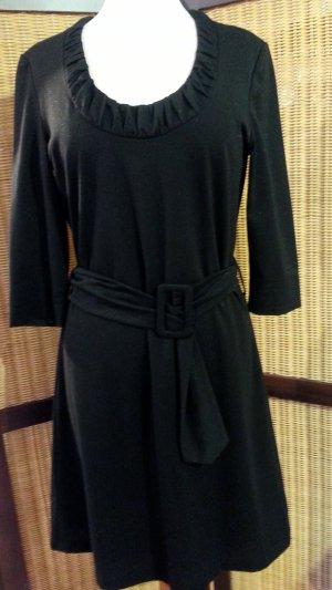 Kurzes #Kleid von #Taifun, Gr. 40 in schwarz