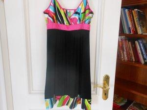 Kurzes Lipsy Kleid, schwarz-bunt; Gr. 42