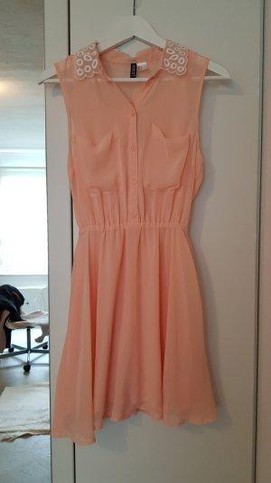 H&M Mini Dress nude-apricot