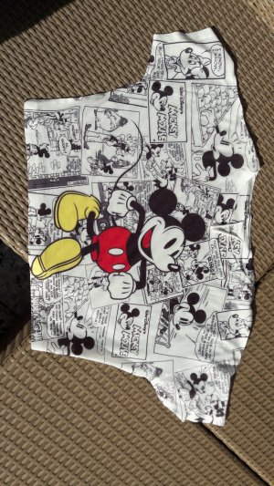 Kurzes Mickey Maus Comic Shirt