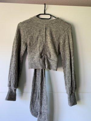 Long Sweater light grey-grey