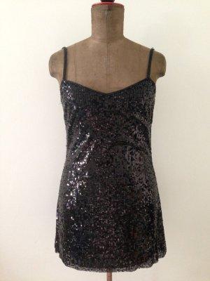 Kurzes Paillettenkleid von Zara, Gr. M (38/40)