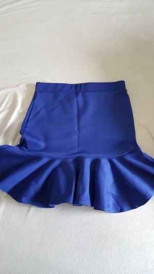 kurzes röckchen in blau