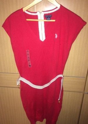 Kurzes rotes Kleid von U.S Polo Assn