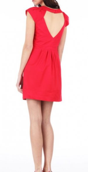 Kurzes rotes PEPE JEANS Kleid Modell 'Frenchi'
