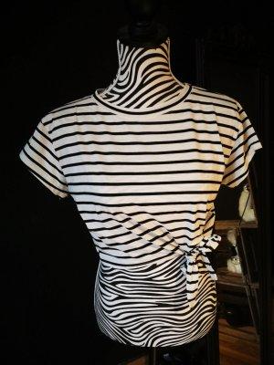 Camisa blanco-negro